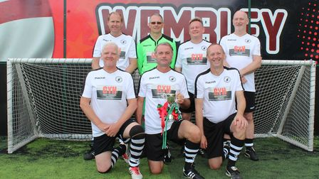 Beccles Town has retained its Suffolk FA walking football crown for the fourth consecutive year. Pic