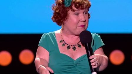 Tanyalee Davis performs stand up at Live at the Apollo.