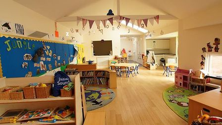 Ravensemere Arc Pre-school in Beccles will be closing on November 1. Photo: Ravensmere Arc