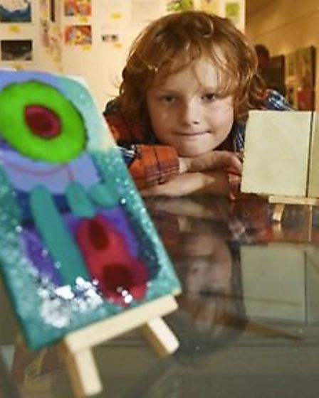 Henry, who is in remission after a three-year battle with Leukaemia. Picture: Sarah Cannell