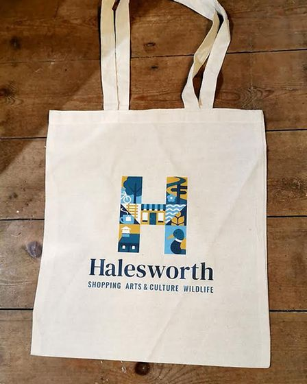 The new logo, designed by Suffolk designers Yellow Belly, is a letter 'H' filled with symbols repres