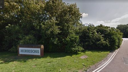 Morrisons store in Beccles. Picture: Google Maps.
