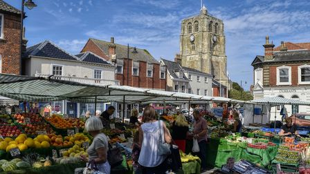 A market day in Beccles. Can you help the Beccles and Bungay Journal continue to cover the towns' gr