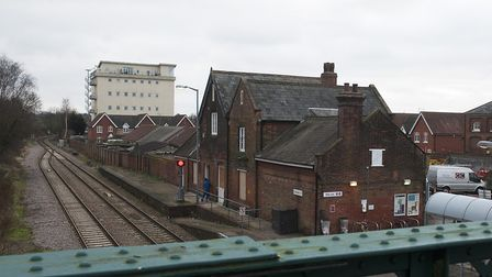 Beccles railway station pictured during renovations in 2015. Photo: Nick Butcher