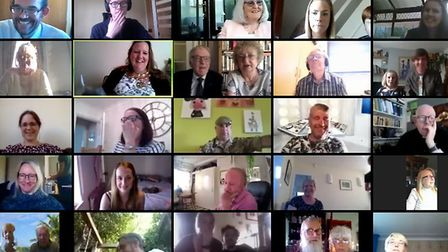In an online meeting held on Tuesday evening (May 19) on Zoom, more than 25 councillors and members