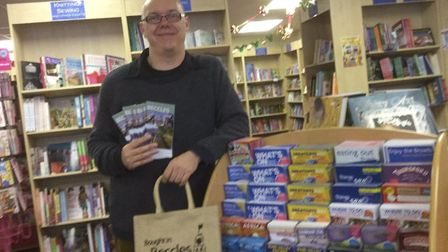 """Lee Mason from Beccles Books said:""""Itll be great to have customers again, weve just ticked over with"""