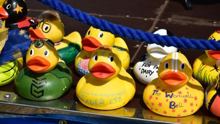 Bungay Duck Race. Photo: Andrew Atterwill