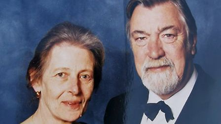 Lawrence Cannard with his wife Jill. PHOTO: Courtesy of Justine Frood