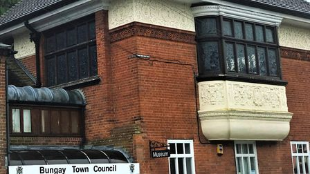 Bungay Town Council offices in Broad Street. PHOTO: Bungay Town Council