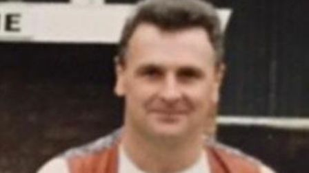 Paul 'Porky' Drew, former Beccles Town FC stalwart, has died in the USA at the age of 63. Picture: C