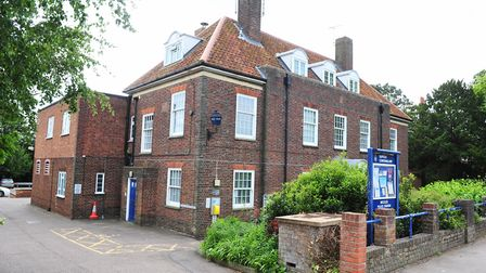 The former Beccles Police Station, on London Road. PHOTO: Nick Butcher