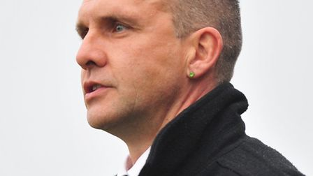 Diss Town manager Mike Derbyshire.