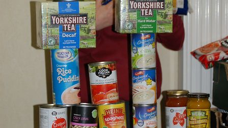 Bressingham Primary School pupils organised a collection for Waveney Foodbank.