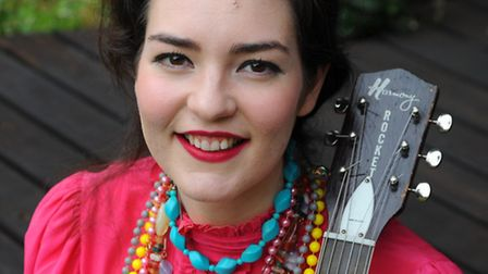 Daisy Lawrence from Yaxley, will be performing at Latitude this year under her stage name Daisy Vict