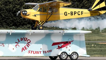 Brendan O'Brien's Flying Circus will be performing at the Old Buckenham Airshow in 2013.
