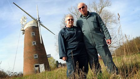 Billingford Mill is being cleaned ready for the new season by Julie and Herbert Websdell.