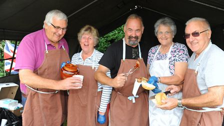 The village of Barford and it's residents put on a vintage weekend. The big breakfast team cook butt