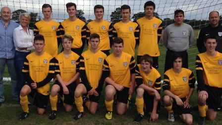 BREAKTHROUGH: Scole Under-19s earned their first point of the season, at Newton Flotman.
