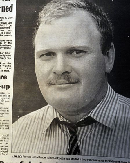 A cutting from The Star in 1996 featuring Michael Costin