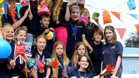 Stowmarket Carnival's parade makes its annual procession from Combs through the town centre.
