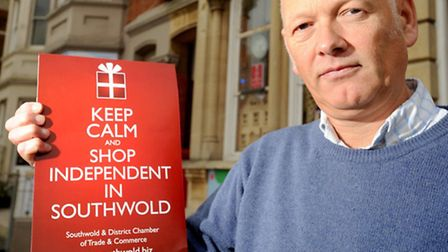 Guy Mitchell, chairman of the Southwold and District Chamber of Commerce, is urging people to vote