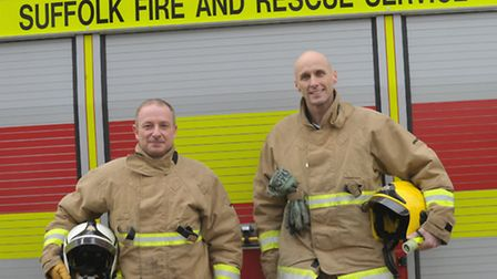 Woodbridge Fire Station is appealing for more people to become retainer fire fighters. Watch Comman
