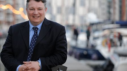 Mark Bee, leader of Suffolk County Council, is not in favour of a unitary authority