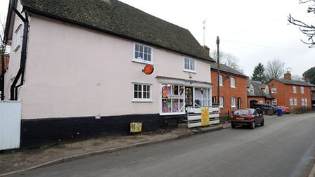 The Post Office in Great Thurlow.