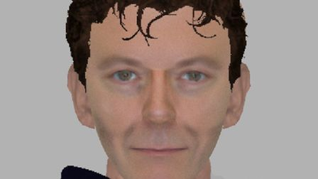 Police have issued an e-fit of a suspect following an assault on a woman in Haverhill on Monday Janu