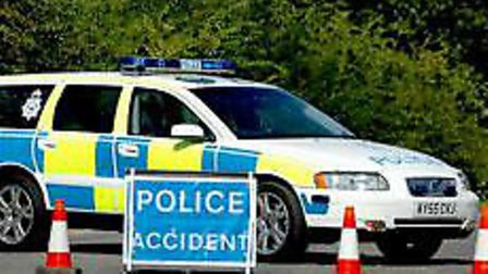 Police called to two vehicle collision on A11