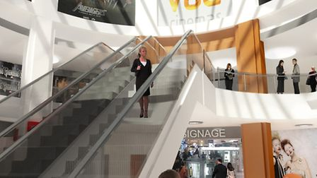 An artist impression of what the Vue cinema in Ipswich could look like ES 27.9.12