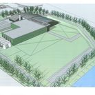 Outline of the new factory proposed for Tiptree