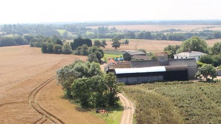 A divide is opening up on farmland prices says Bidwell