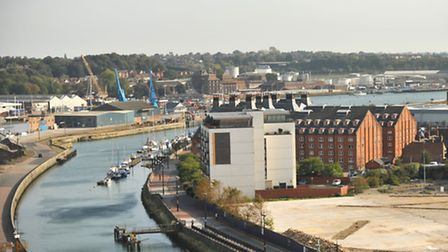 Ipswich has been ranked among the UK's top 25 places for business competitiveness