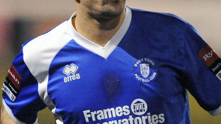 Craig Parker pictured playing for Bury Town earlier this season
