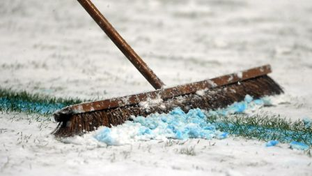 Bitterly cold weather has forced the cancellation of this weekend's football fixtures on council-own