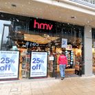 HMV store in Bury St Edmunds. HMV has offically gone into administration putting 4,000 jobs at risk