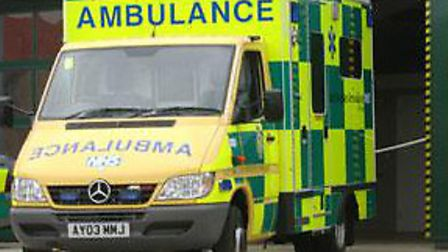 A woman in her 20s is in hospital after sustaining a head injury in a six car pile up on the A11.
