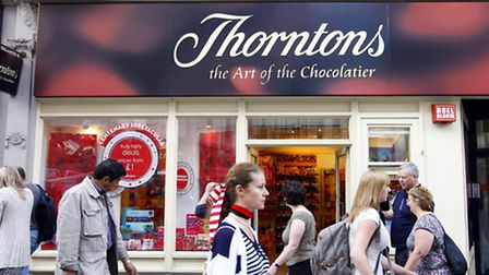 A Thorntons shop in London's Oxford Street