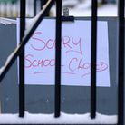 Five schools have closed in Suffolk today because of freezing temperatures.