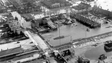 Looking at the aftermath of the 1953 floods