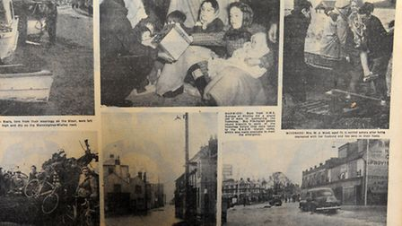 Archives from the great flood of 1953.