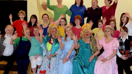 Oh yes they did: The Southgate Community Partnership holding it's first ever seasonal pantomime Cind