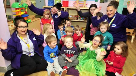 Spitfires Nursery celebrate after members of the public donate funds to replace stolen play equipmen