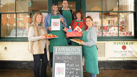 Lawson's Delicatessan in Aldeburgh is raising money for the British Heart Foundation in memory of fo
