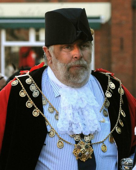 Former Aldeburgh mayor Jimmy Robinson who passed away at the end of last year