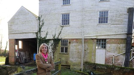 The owners of Kersey Mill are looking to restore the Mill to its former glory. Alison de Lara-Bell i