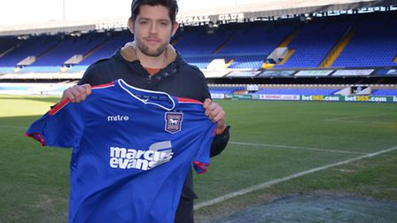 New Ipswich Town signing Anthony Wordsworth