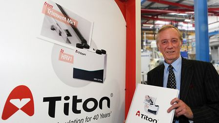 John Anderson, founder and deputy chairman of Titon, the Colchester-based ventilation and window har