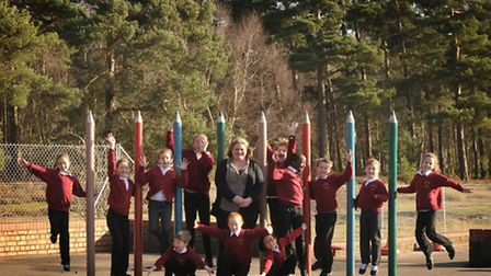 Sandlings Primary School has been given a 'good' Ofsted report. Headteacher Patircia Toal is picture